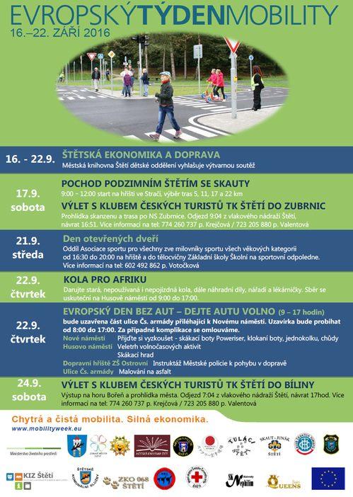 Zdravé město zve na Evropský týden mobility