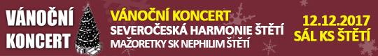 Vánoční koncert Severočeské Harmonie Štětí a Mažor [nové okno]