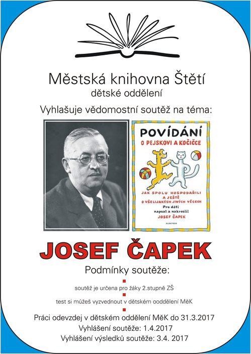 Vědomostní soutěž: Josef Čapek