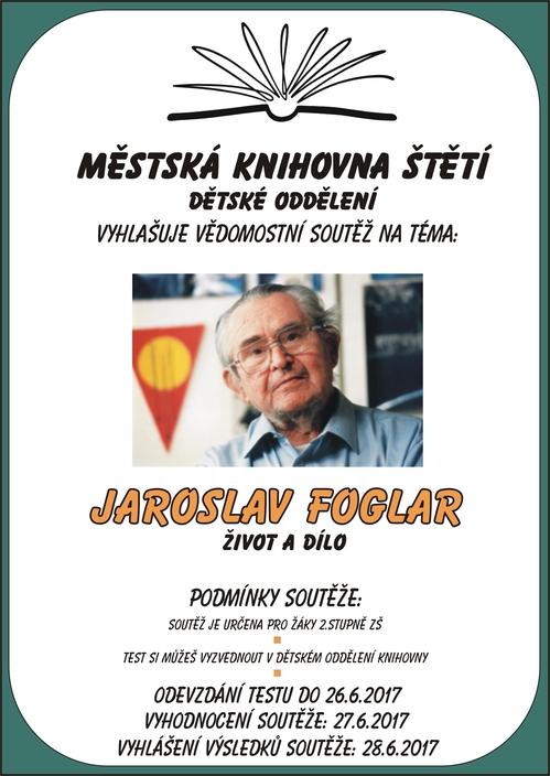 Vědomostní soutěž: Jaroslav Foglar