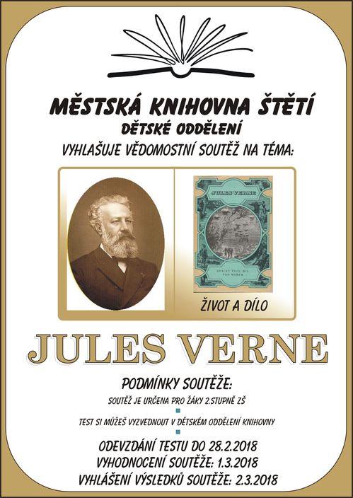 Vědomostní soutěž: Jules Verne