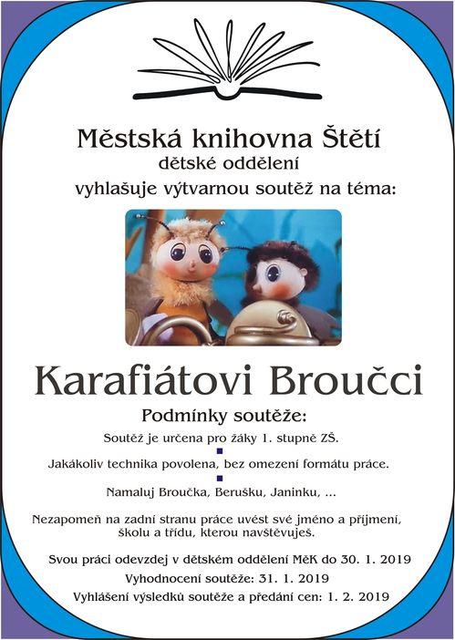 Výtvarná soutěž: Karafiátovi Broučci