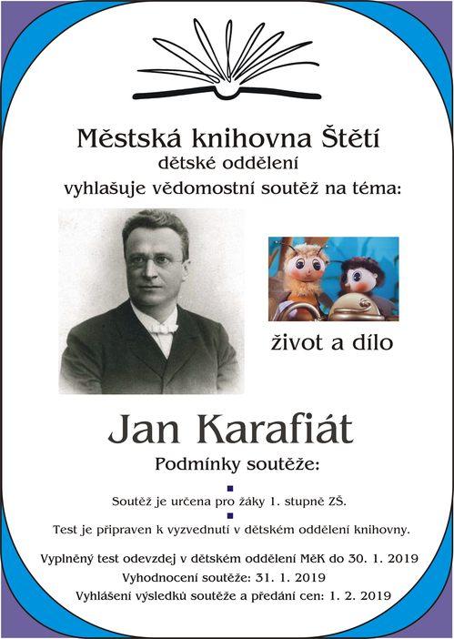 Vědomostní soutěž: Jan Karafiát
