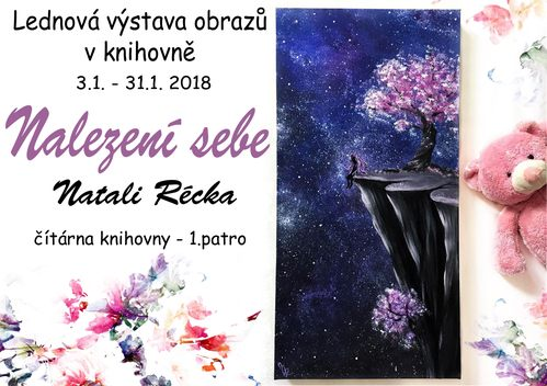 Výstava: Nalezení sebe - Natali Récka